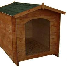 Cucce in legno per cani e gatti