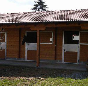 Peloro il robusto box cavalli in legno   Legnonaturale.COM