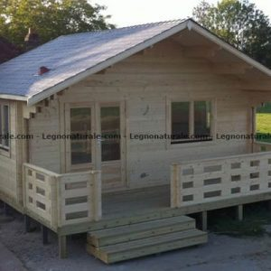Floresta il versatile bungalow in legno blockhaus | Legnonaturale.COM
