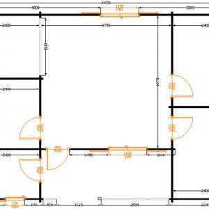 Pinzolo ampio ed economico bungalow in legno | Legnonaturale.COM