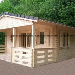 Trilocale piccolo Il bungalow in legno blockhaus per le tue vacanze