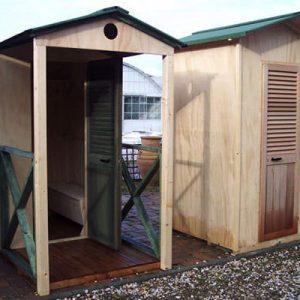 Tropicana la deliziosa cabina mare in legno | Legnonaturale.COM
