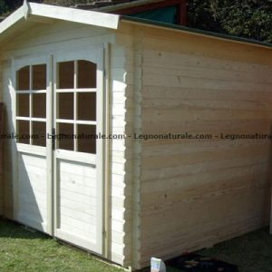 Latina la versatile casetta attrezzi in legno blockhaus | Legnonaturale.COM