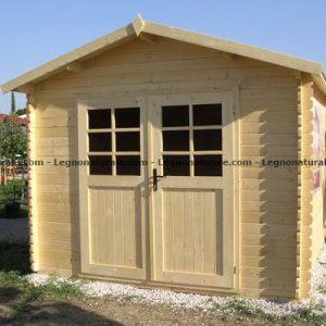 Verona spazioso ricovero attrezzi in legno blockhaus | Legnonaturale.COM
