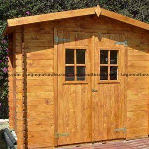 Venezia la semplice casetta in legno per ricovero attrezzi