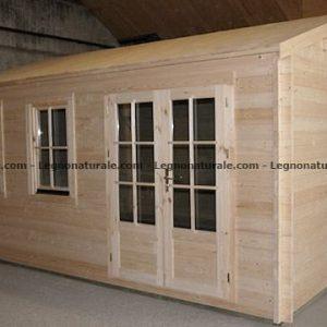 Firenze ampia e luminosa garden house in legno blockhaus