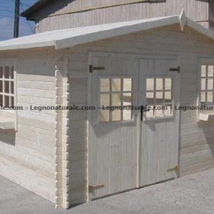 Lucca gradevole casa da giardino in legno blockhaus | Legnonaturale.COM