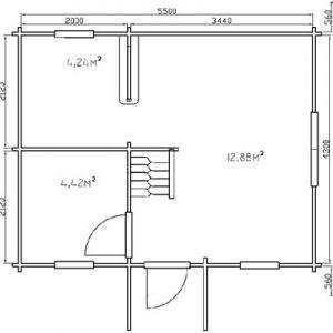Biancavilla la piacevole casa in legno blockhaus | Legnonaturale.COM