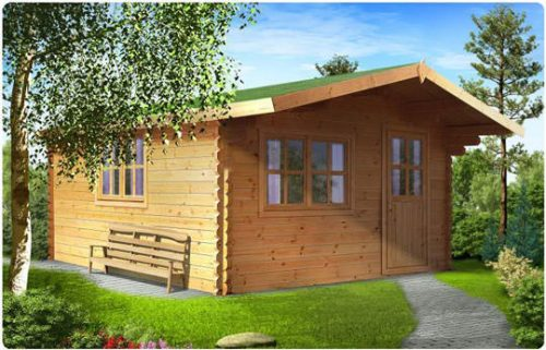 Modena la solida casa in legno blockhaus | Legnonaturale.COM