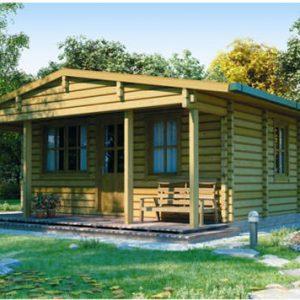 Nebrodi l'ecologica casa in legno blockhaus | Legnonaturale.COM