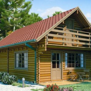 Simeto la confortevole casa in legno blockhaus | Legnonaturale.COM