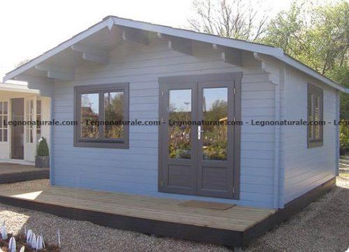 Trapani l'elegante casa in legno blockhaus | Legnonaturale.COM