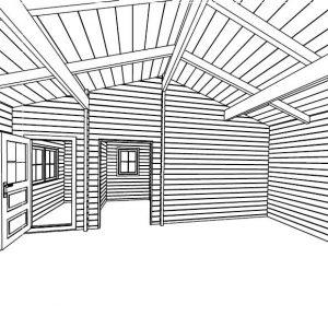 Modica la splendida casa in legno blockhaus | Legnonaturale.COM