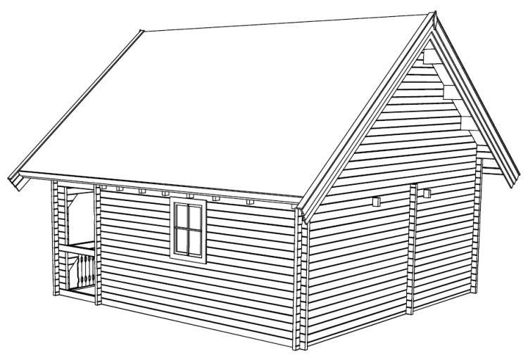 Sambuca La Casa In Legno Blockhaus Su Due Livelli Legnonaturale Com