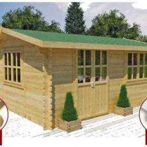 Furci l'ampia casa da giardino in legno | Legnonaturale.COM
