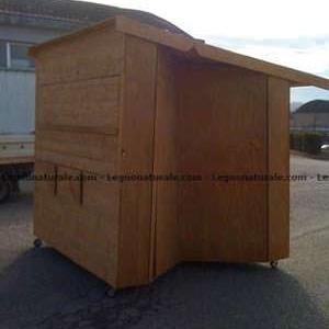 Chioschi richiudibili in legno