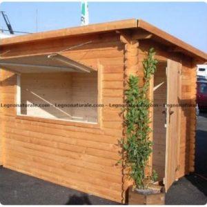 Chiosco in legno modello Cucaracha