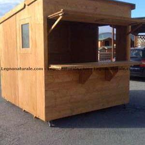 Chiosco pieghevole in legno modello Expander