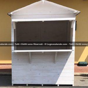 Chiosco in legno modello Marsala