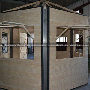 Chiosco in legno modello Summerson