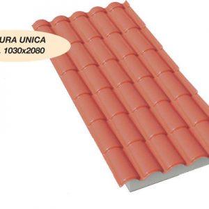 Coppo XL Iso Life la graziosa copertura PVC in coppo coibentata