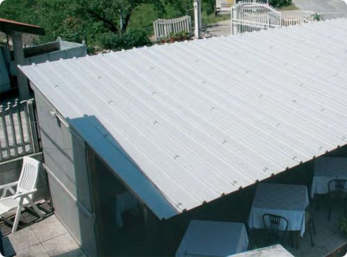Etruria la copertura in PVC per strutture industriali   Legnonaturale.COM