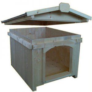 Puglia la cuccia per cani in legno realizzata a pannelli