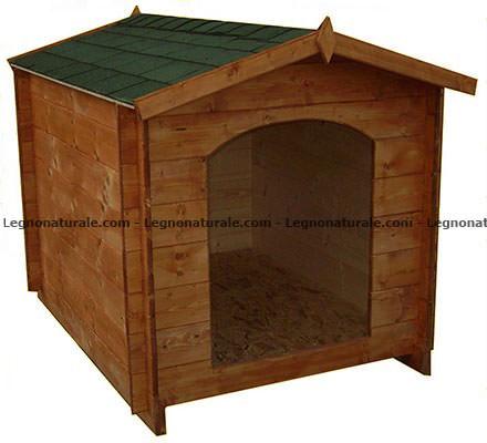 Sicilia la cuccia per cani realizzata in legno blockhaus