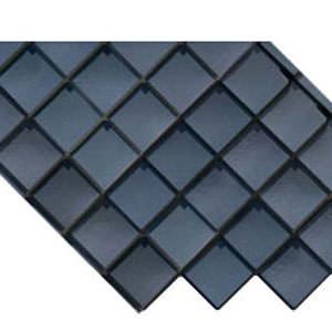 Ardesia la lastra di copertura in PVC di forma diagonale