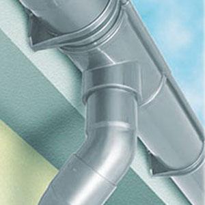 >CUPRAELITE 125 © Kit gronda in PVC per strutture in legno